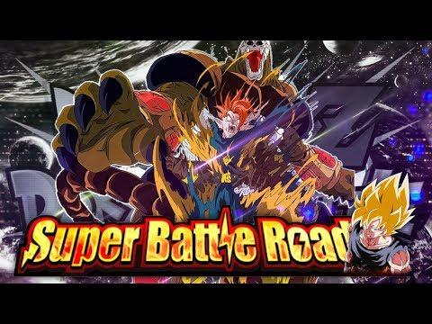 THE NEW GIANT STAGE OF SUPER BATTLE ROAD BEATEN! (DBZ: Dokkan Battle)