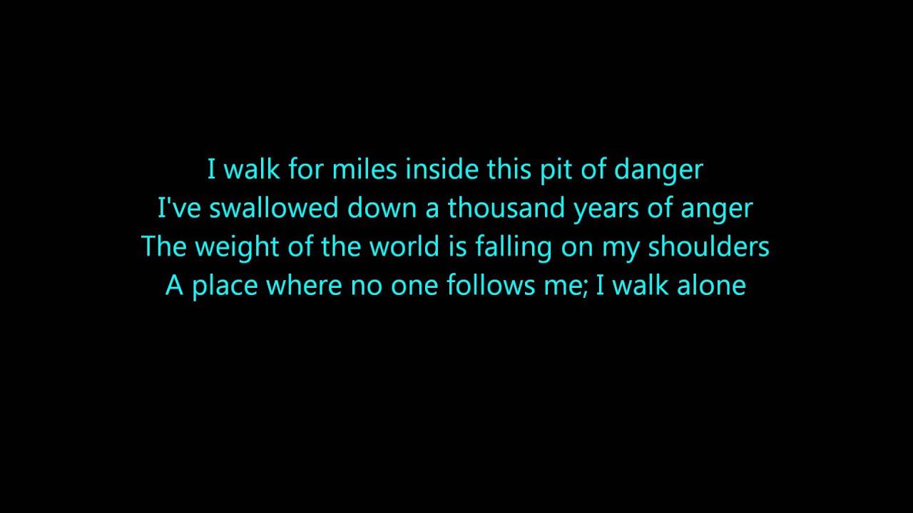 I follow you me lyrics