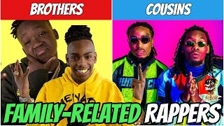 Rappers You Didn't Know WERE RELATED! (YNW BSlime, Playboi Carti, Chief Keef & MORE!)
