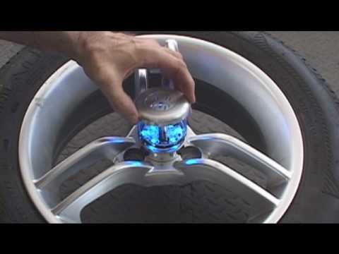 Spyder Can Am Roadster (Motorcycle) Wheel Lights GloRyder  Installation