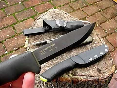 Mora BushCraft Black - Test