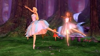 Barbie of Swan Lake - Fairy Queen teaches Odette how to waltz