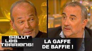 La gaffe de Baffie sur la femme d'Antoine Duléry