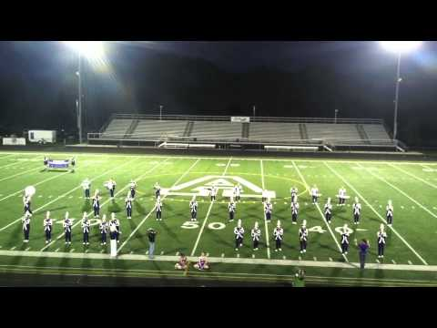 Berkshire High School Marching Band  Thunder Over Aurora Band Show 9:21:2013