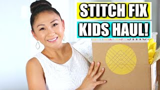 Stitch Fix Kids Summer Clothing Haul + Giveaway!