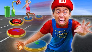 Ultimate GIANT BOARD Game - Challenge for $10,000 (MARIO PARTY EDITION)