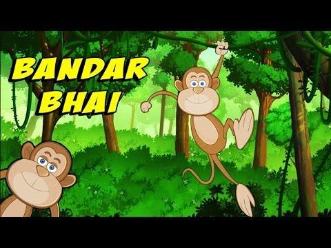 Hindi Nursery Rhymes | Bandar Bhai Hindi Rhymes For Children video