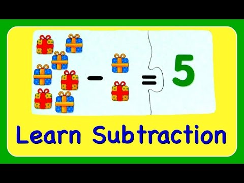 Download Subtraction Learn How To Subtract & Minus Numbers!  Fun Math YouTube  For Kids! Mp4 baru