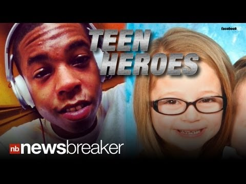 Heroes: Two Teen Boys On Bikes Rescue Kidnapped Girl video