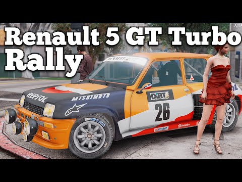 Renault 5 GT Turbo Rally
