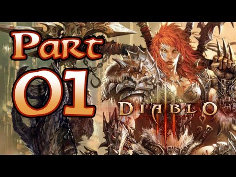 Diablo 3 III Gameplay – Barbarian Class