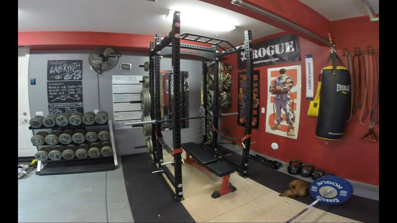 Rogue fitness monster rack review youtube