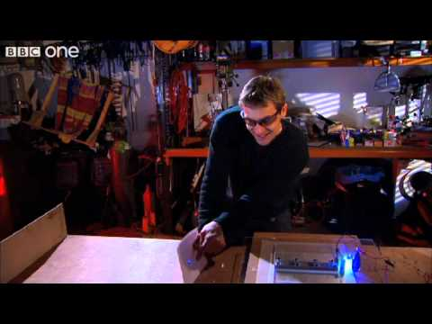 Jem's homemade laser - Bang Goes the Theory, preview - BBC One
