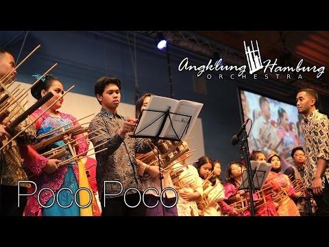 Poco Poco - Angklung Hamburg Orchestra (@IAPH's Bali Night June 3rd 2015)