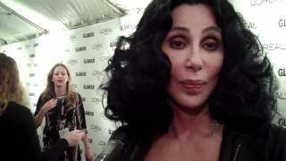 Cher Is Still The Coolest Dame Ever At The Glamour Women Of The Year Awards (08.11.2010)