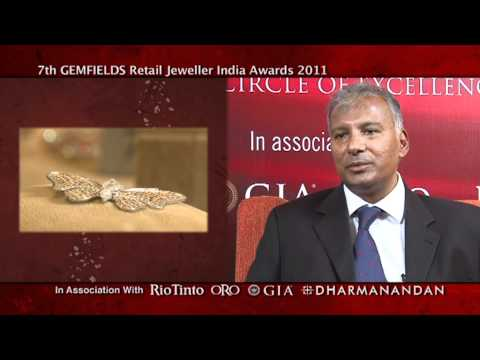 Vikram Merchant, Rio Tinto (India), partner 7th Retail Jeweller India Awards 2011