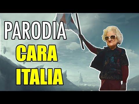 GLI EFFETTI DI CARA ITALIA SU MIA NONNA - Parodia Ghali - iPantellas