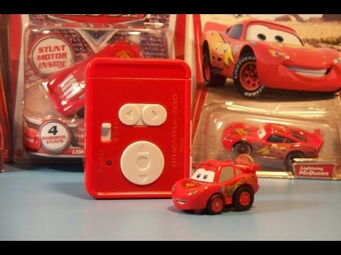 DISNEY PIXAR CARS 2 AIR HOGS R/C LIGHTNING MCQUEEN TOY REVIEW