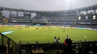 View from Sachin Tendulkar stand level 1 block V in Wankhede stadium, Mumbai.