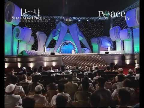 Hq: Is The Quran God's Word? Peace Conference 2007 - Dr. Zakir Naik [peace Tv] Part 1 21 video