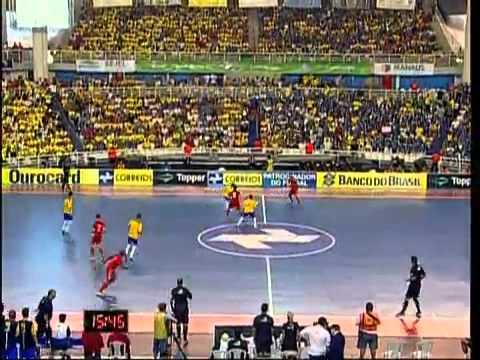Futsal (FINAL) - Brasil 2 x 1 Rússia - Grand Prix Futsal 2011