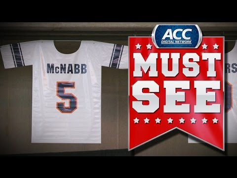 Syracuse Retires Donovan McNabb's Jersey | ACC Must See Moment