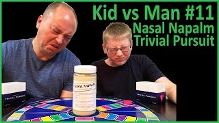 Eating NASAL NAPALM!!! : Kid Vs Man #11, Crude Brothers