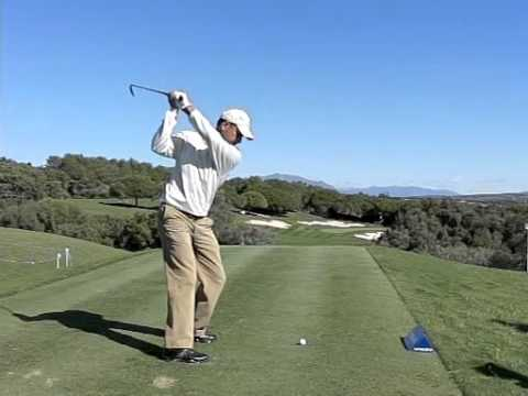 Jeev Milkha Singh Golf Swing Slow Motion 300fps