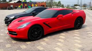 Corvette stingray vs SL 65 AMG