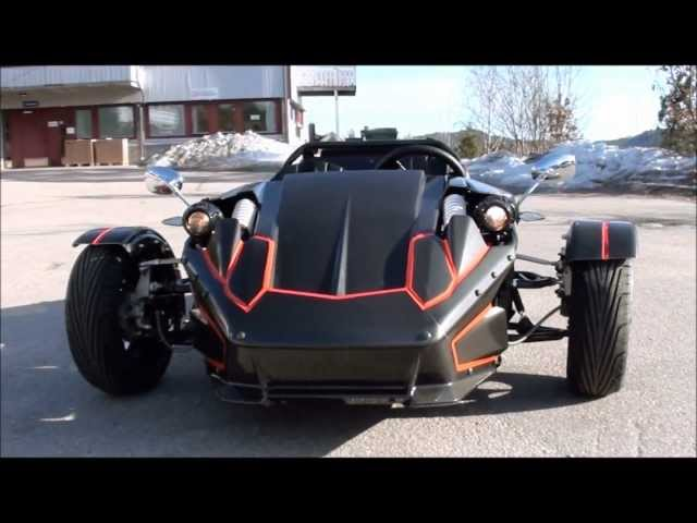 ZTR trike 250ccm - YouTube