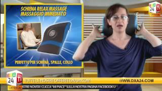 prova dal vivo schiena relax massage cuscino