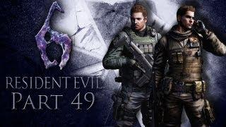 Let's Play Resident Evil 6 [Together/Chris] #49 Die Rettung naht!