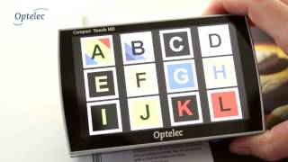 Portable Video Magnifier Optelec Compact Touch HD: How it works