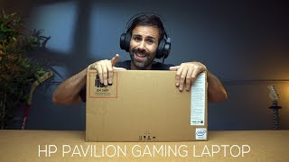 HP Pavilion Gaming Laptop Unboxing //  Budget Gaming!