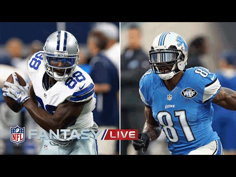 Dez Bryant or Calvin Johnson?   Top 2015 Wide Receiver - Fantasy Debate   NFL