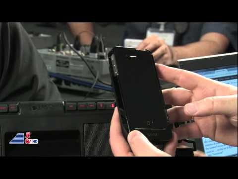 IFA 2011: Etn Corporation Interview (Mobius Solar Charger/soulra XL)