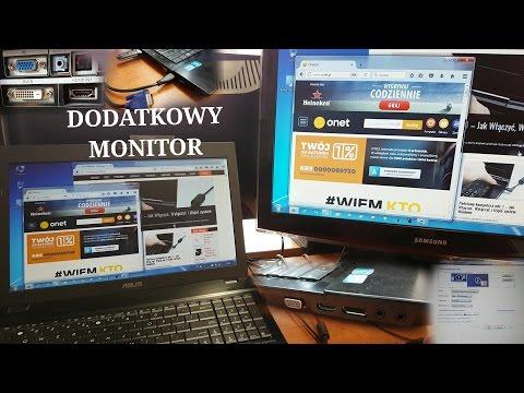 Jak Podłączyć 2 Monitor Do Laptopa Lub Komputera? Odc.4