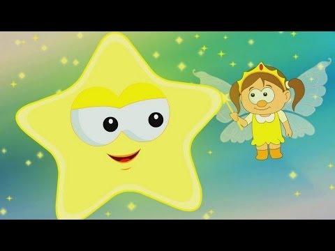 Star Light Star Bright - Nursery Rhyme   HooplaKidz TV