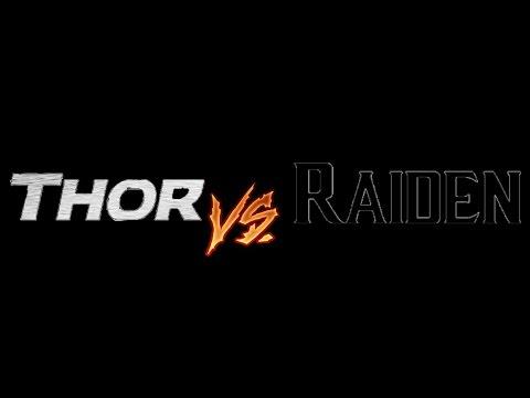 Thor VS Raiden thumbnail