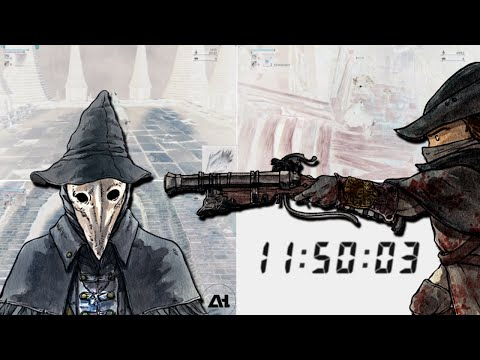 Bloodborne Race: 5 Hunters Killed in 00:11:50