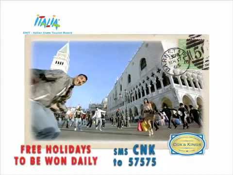 Kambakkht Ishq : Win 100 Free Blockbuster Holidays to Italy - SMS 'CNK' to 57575