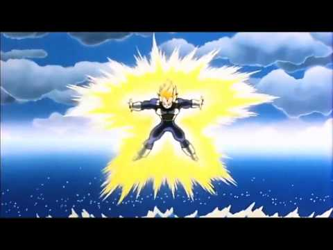 USSJ Vegeta VS Cell Final Flash (REMASTERED)