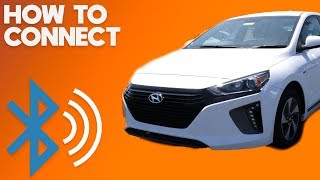 2018 Hyundai Ioniq - How to Connect Bluetooth