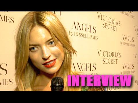 Victoria's Secret: Martha Hunt Talks Play Date with Robert Pattinson