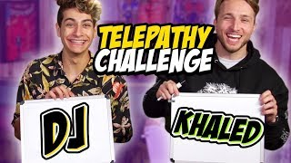 WE TRY THE TWIN TELEPATHY CHALLENGE (The Show w/ No Name)