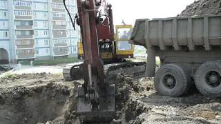 ЭО-5123 Soviet russian shovel