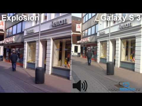 Highscreen Explosion vs Samsung Galaxy S 3: сравнение камер