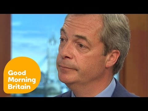 Nigel Farage Admits NHS Claims Were A Mistake | Good Morning Britain