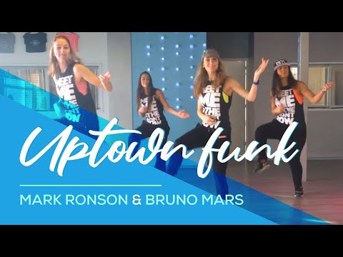 Zumba Dance Fitness uptown Funk Bruno Mars Choreography - Woerden video