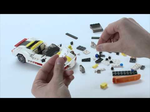 LEGO® Creator - Combo-car: Highway Speedster and Mini Skyflyer